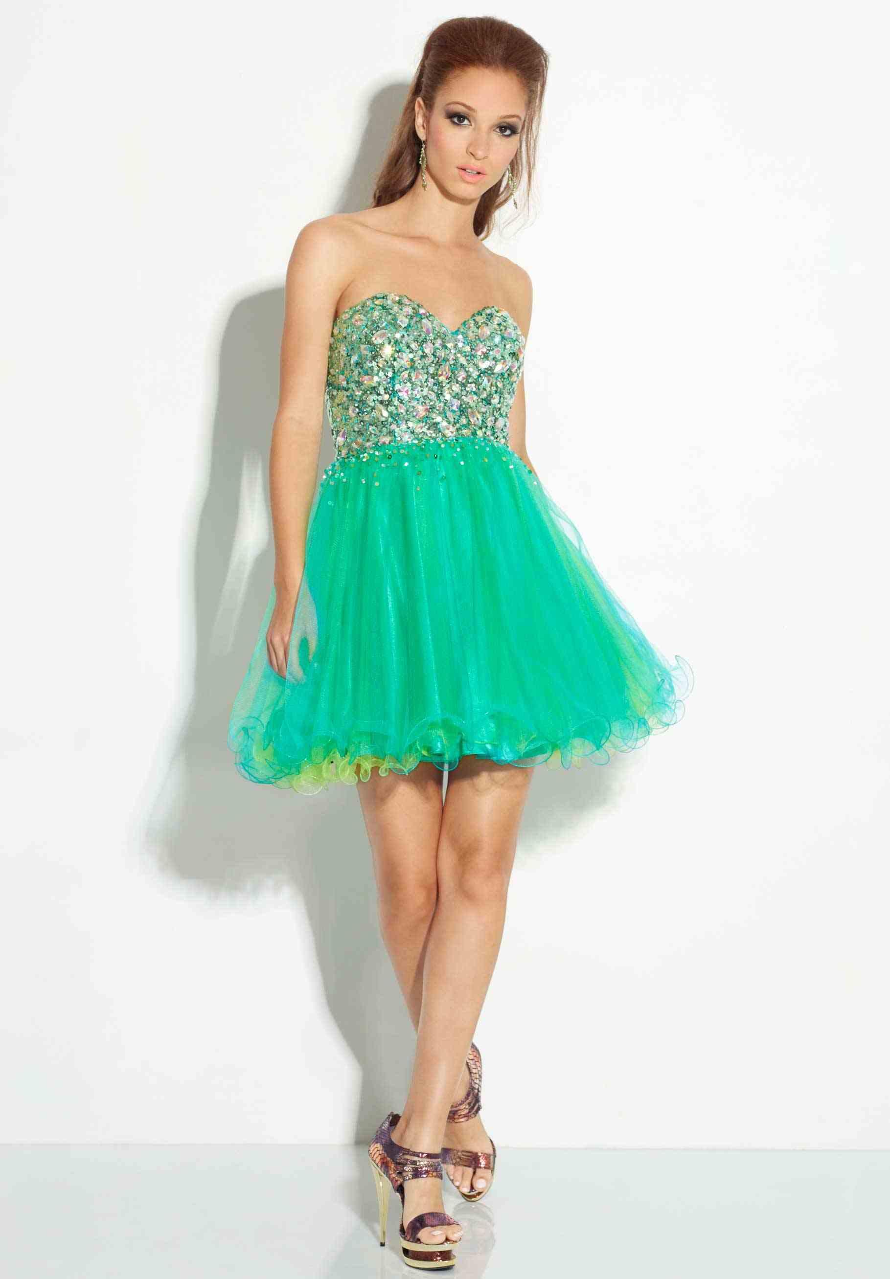 Green Short Prom Dresses | Dress images