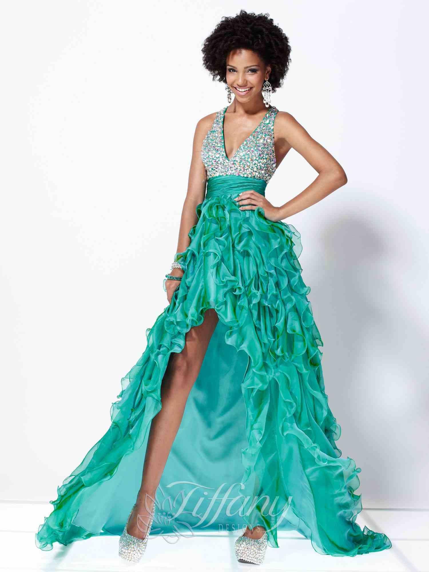 Teal Prom Dresses 2013 Tiffany Prom Dresses 2013