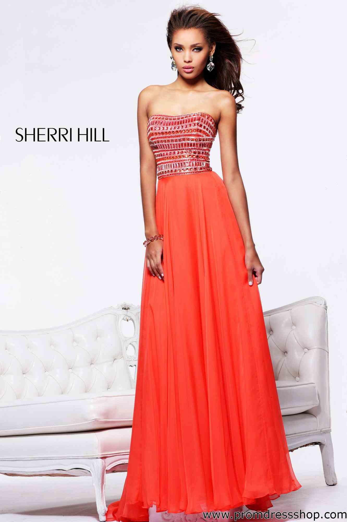 Red Sherri Hill Prom Dresses 2014 - Jetumalu.net